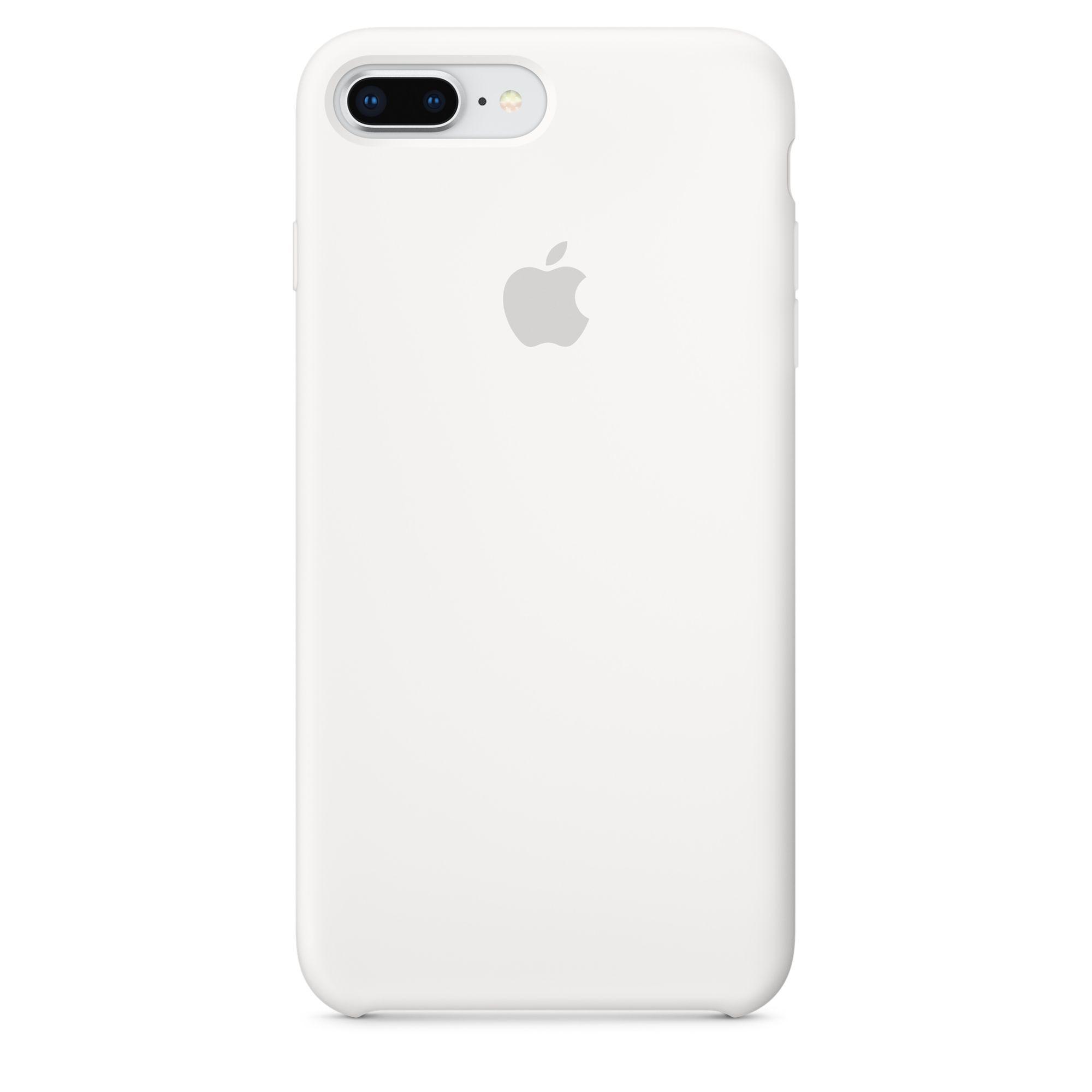 Apple silikonový kryt na iPhone 8 Plus / 7 Plus – bílý