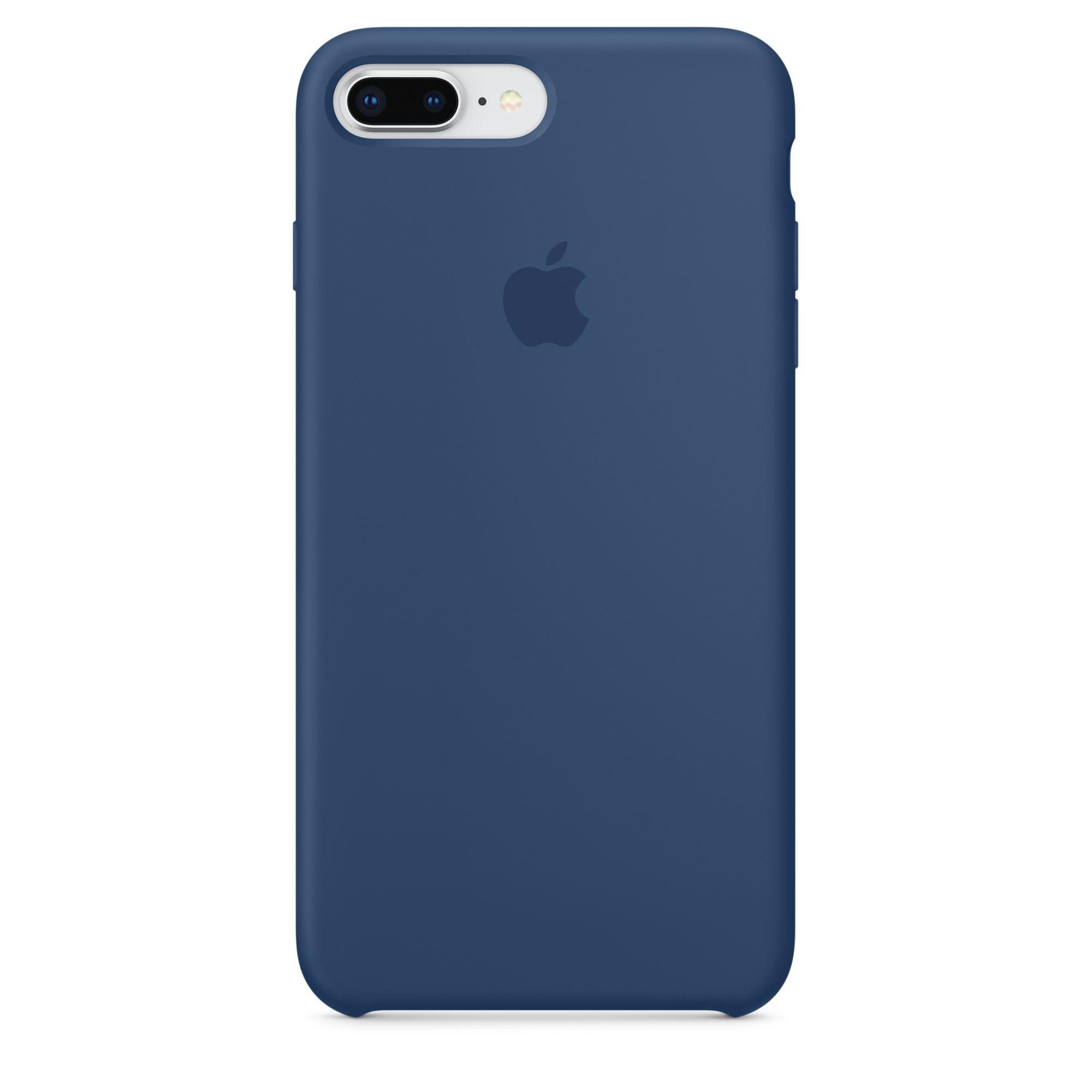 Apple silikonový kryt na iPhone 8 Plus / 7 Plus – kobaltově modrý