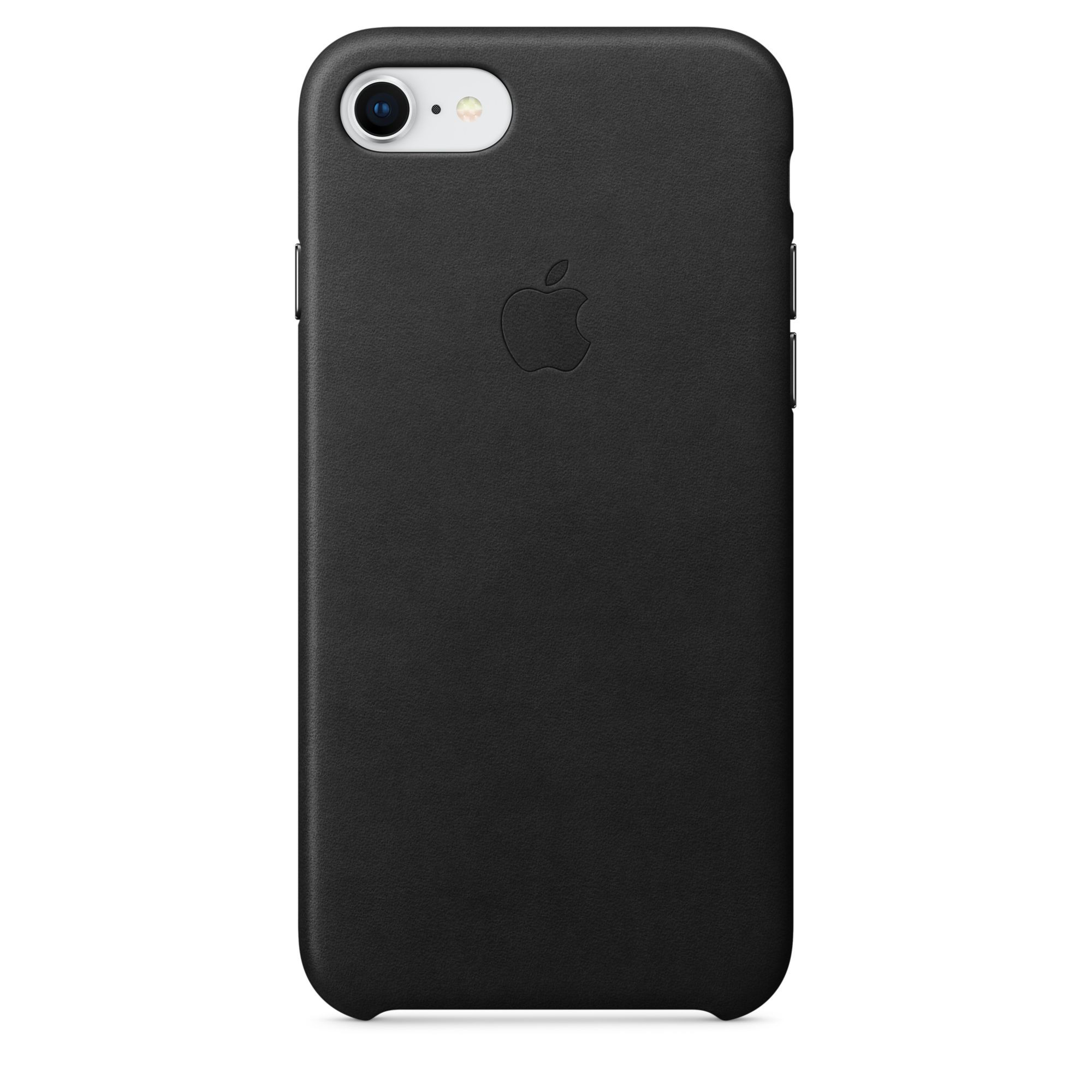 Apple kožený kryt na iPhone 8 / 7 – černý