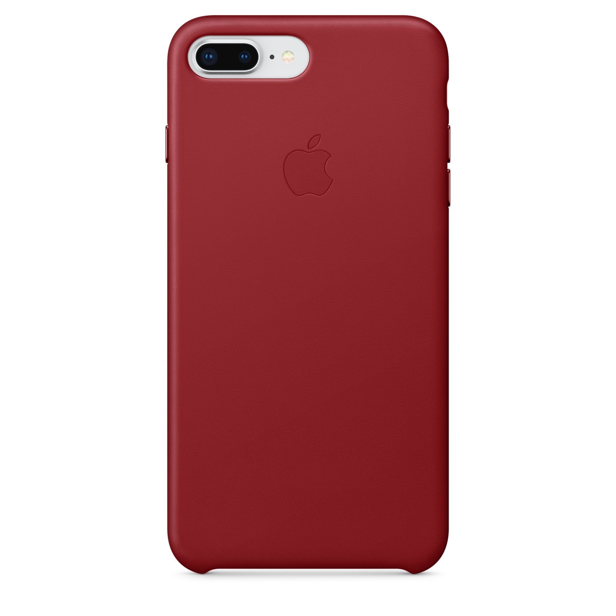Apple kožený kryt na iPhone 8 Plus / 7 Plus – (PRODUCT)RED