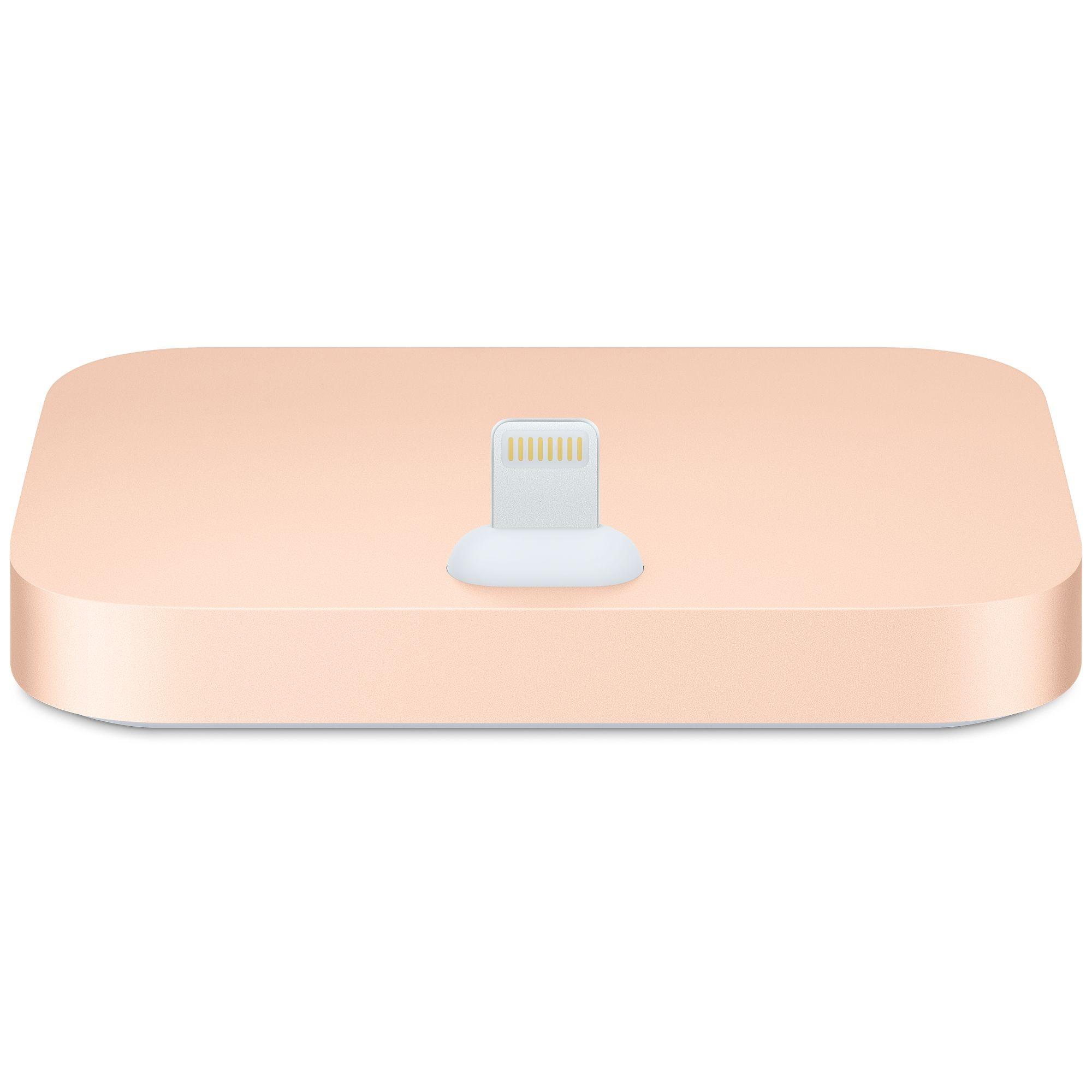Apple iPhone Lightning Dock - zlatý mqhx2zm/a