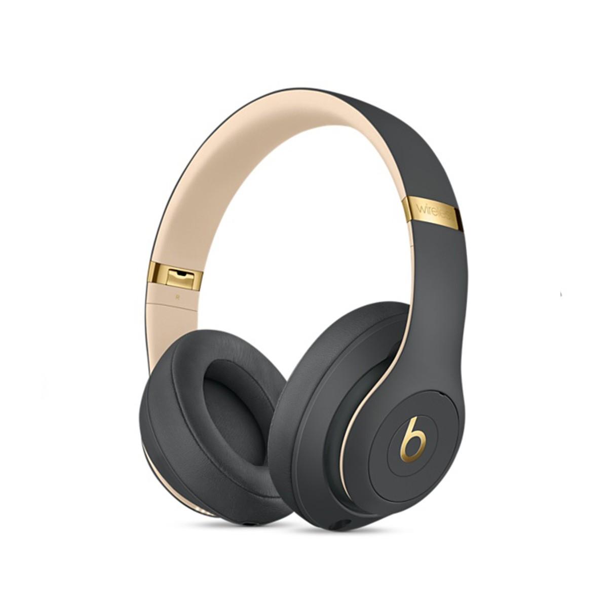 Sluchátka Beats Studio3 Wireless na uši – stínově šedá