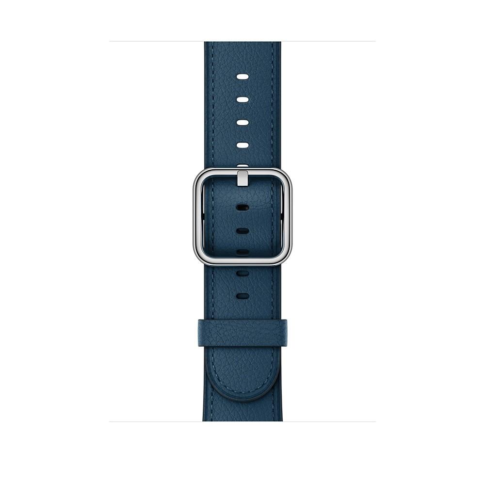 Apple - 42mm vesmírně modrý řemínek s klasickou přezkou