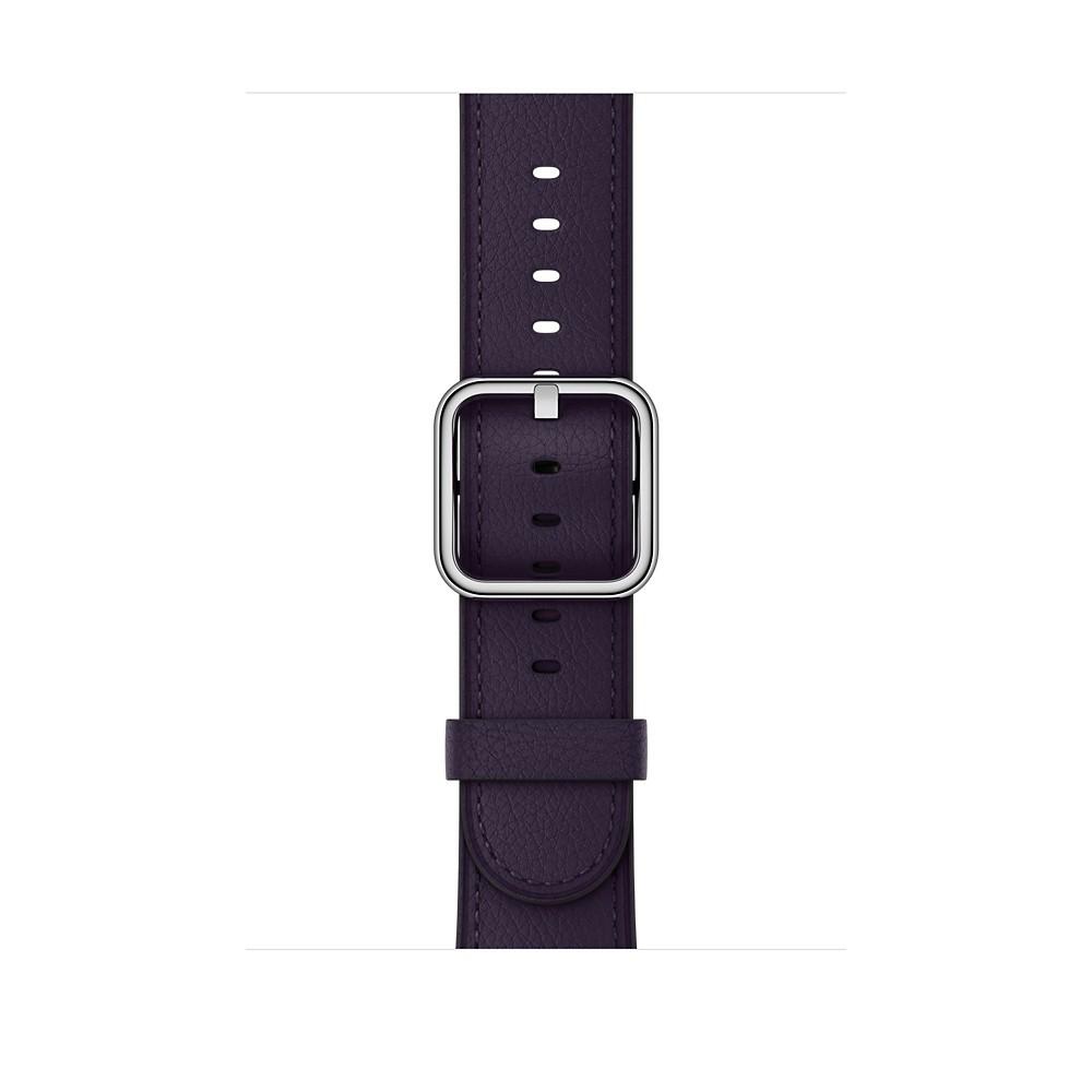 Apple - 42mm lilkově fialový řemínek s klasickou přezkou