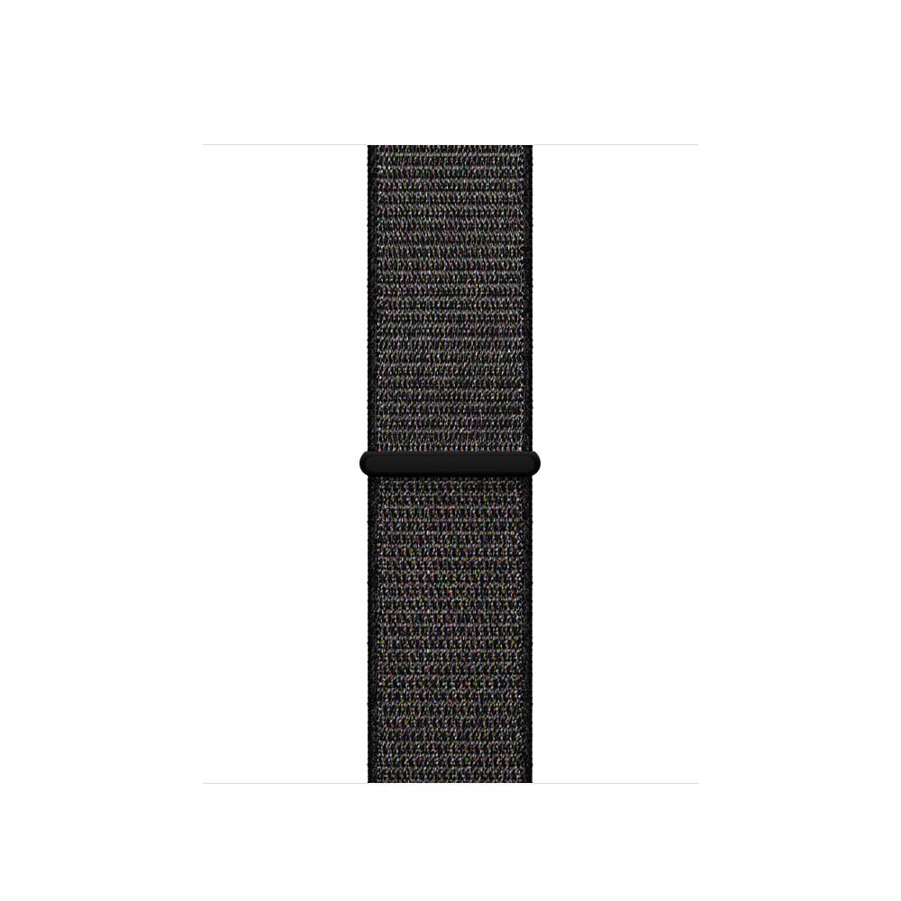 Apple - 38mm černý provlékací sportovní řemínek
