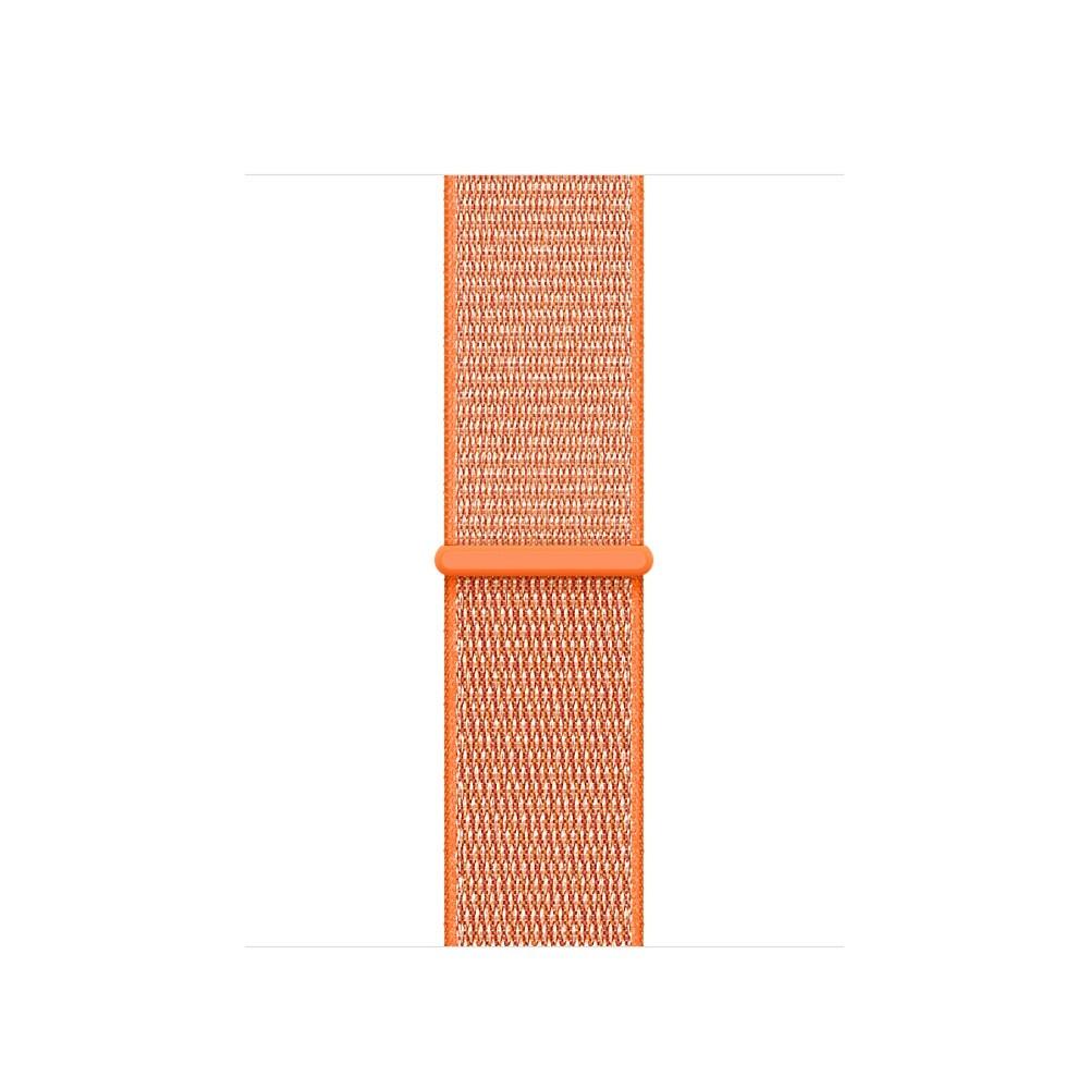 Apple - 38mm paprikově oranžový provlékací sportovní řemínek