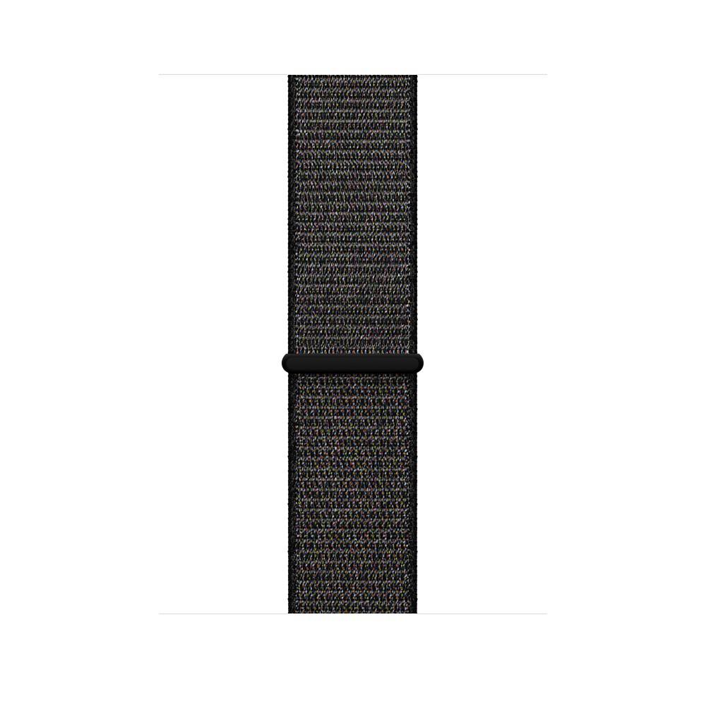 Apple - 42mm černý provlékací sportovní řemínek