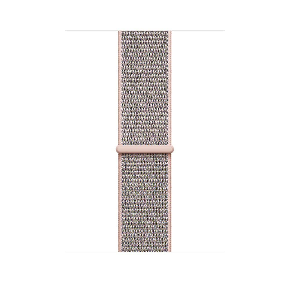 Apple - 42mm pískově růžový provlékací sportovní řemínek
