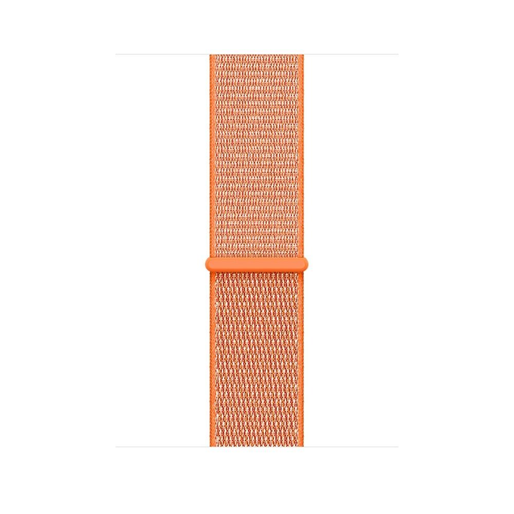 Apple - 42mm paprikově oranžový provlékací sportovní řemínek