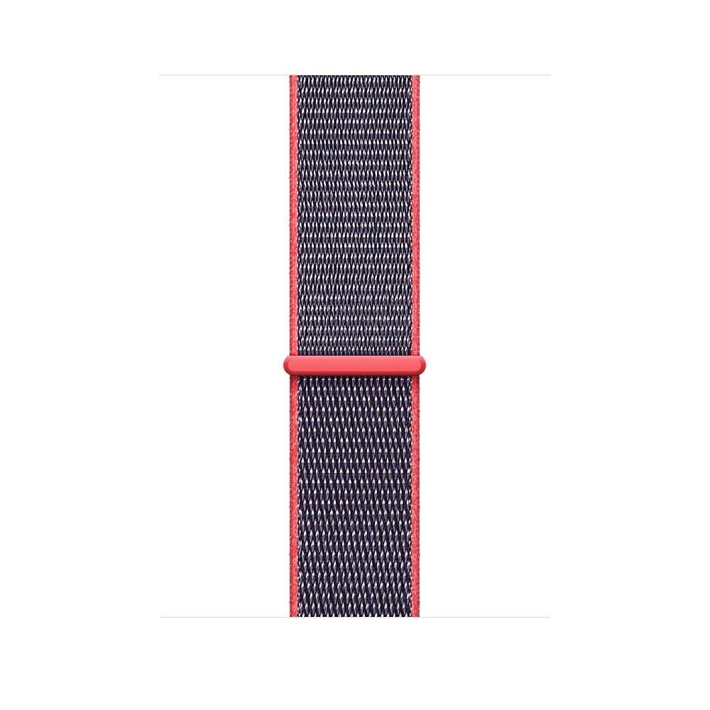 Apple - 42mm elektro růžový provlékací sportovní řemínek