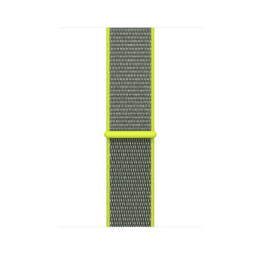 Apple - 42mm zářivě žlutý provlékací sportovní řemínek