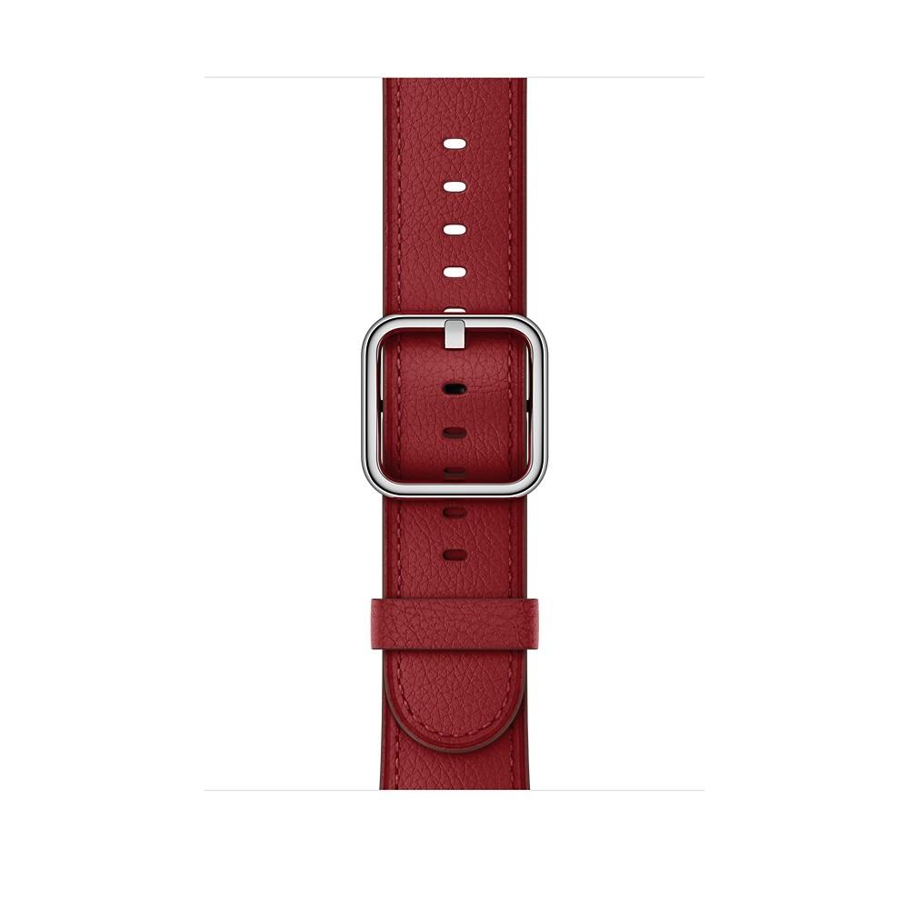 Apple - 42mm řemínek (PRODUCT)RED s klasickou přezkou