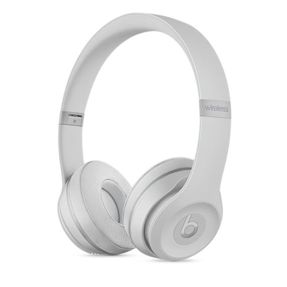 Bezdrátová sluchátka Beats Solo3 Wireless - matně stříbrná