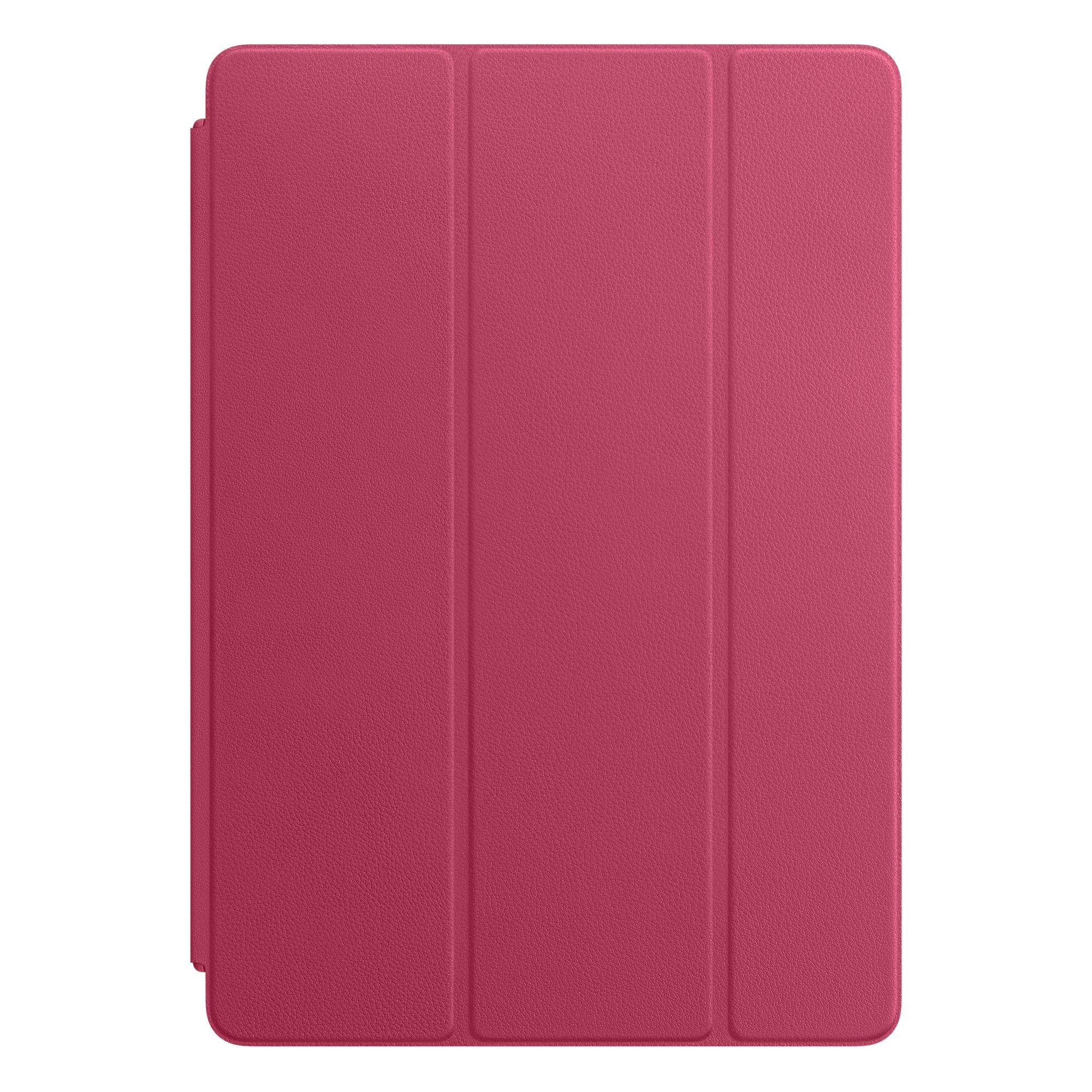 Kožený Smart Cover na 10,5palcový iPad Pro – fuchsiový