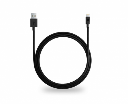 Nonda ZUS kabel USB Lightning - černý