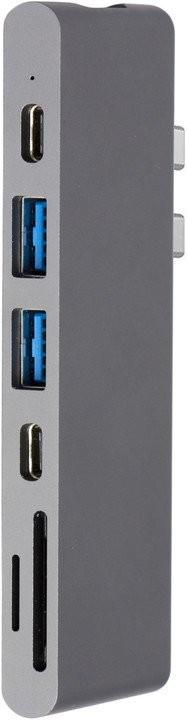 EPICO Pro Hub - USB-C multiport dokovací stanice, vesmírně šedá