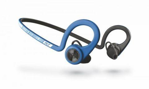 Bezdrátová sluchátka Plantronics BackBeat Fit Stereo, modrá