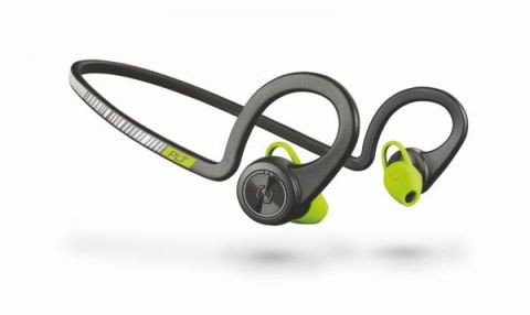 Bezdrátová sluchátka Plantronics BackBeat Fit Stereo - černá