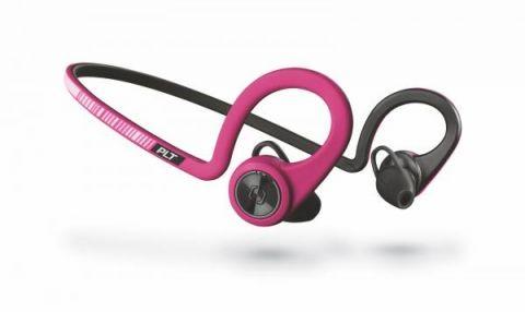 Bezdrátová sluchátka Plantronics BackBeat Fit Stereo, růžová