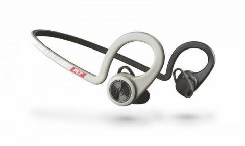 Bezdrátová sluchátka Plantronics BackBeat Fit Stereo, šedá