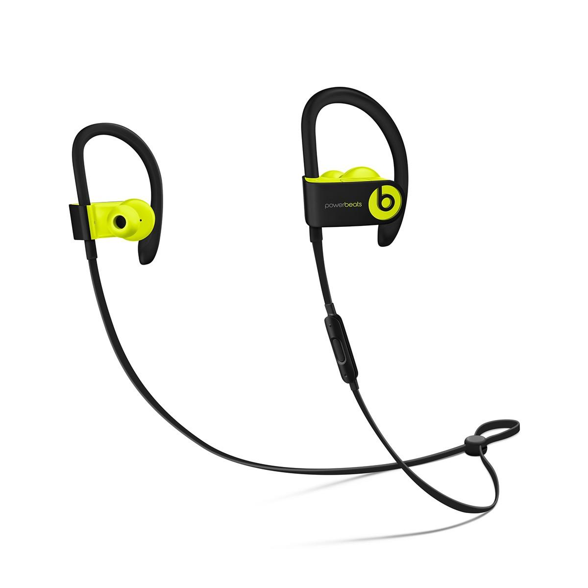 Sluchátka Powerbeats3 Wireless - žlutá