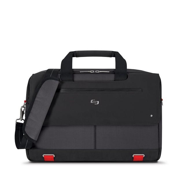 """Solo Mission Briefcase - taška pro 15.6"""" Macbook/laptop - černá"""