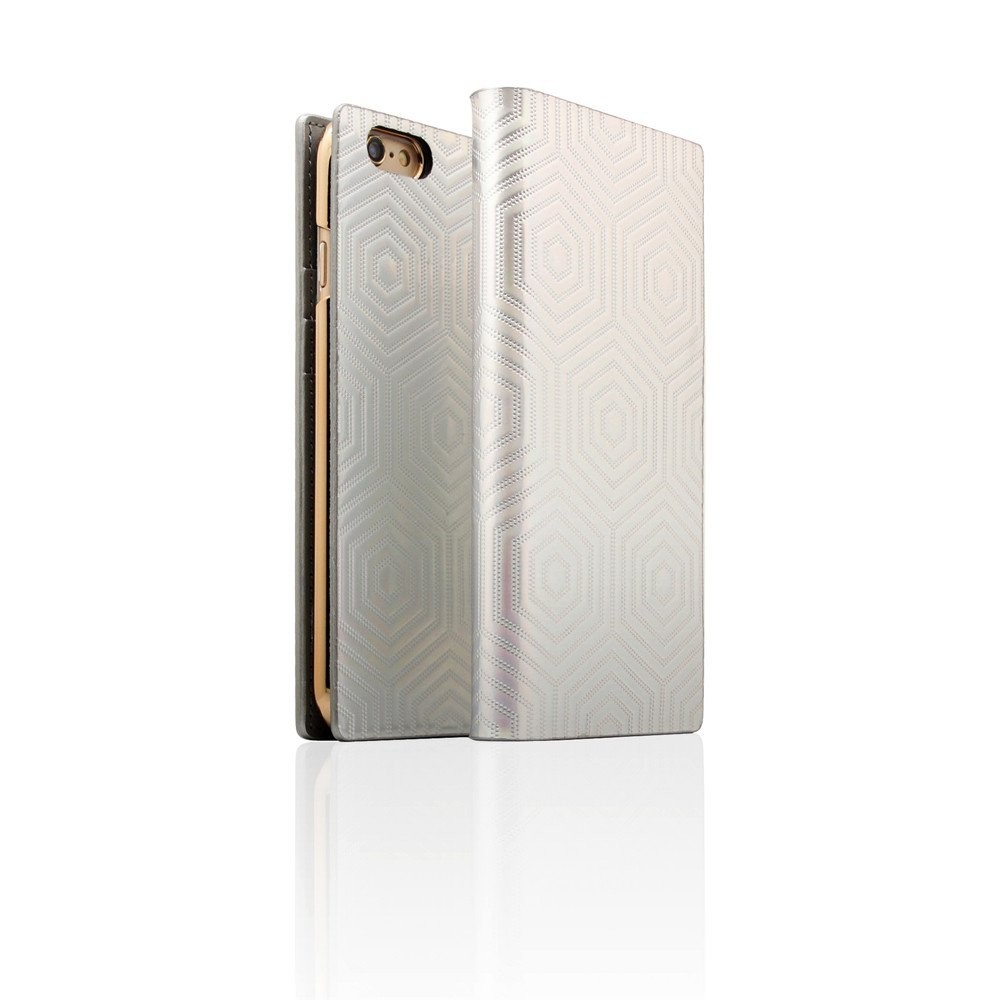 SLG D4 Metal Hologram Case - iPhone 6+/6S+, Silver