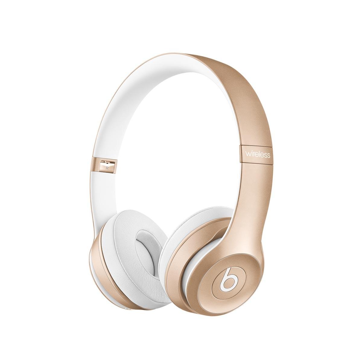 Bezdrátová sluchátka Beats by Dr. Dre Solo², zlatá