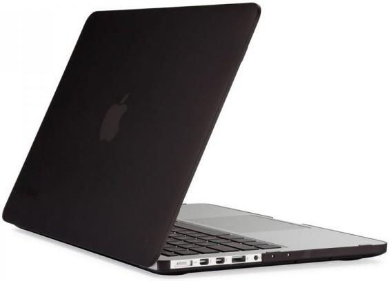"""Obal na MacBook Pro 13"""" Retina Speck SeeThru - matně černý"""