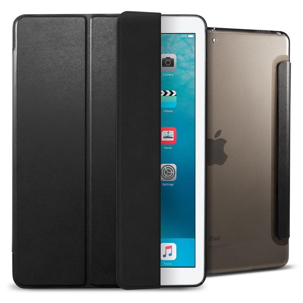 """Spigen Smart Fold ochranný kryt pro iPad Pro 9,7"""" 2017 – kouřový"""