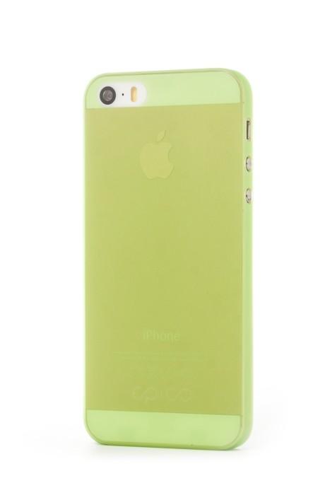 EPICO TWIGGY MATT, kryt pro iPhone 5/5s, zelený