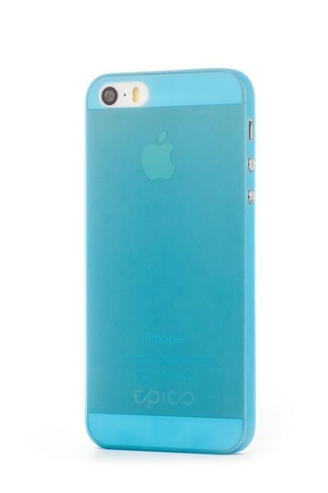 EPICO TWIGGY MATT, kryt pro iPhone 5/5s, modrý