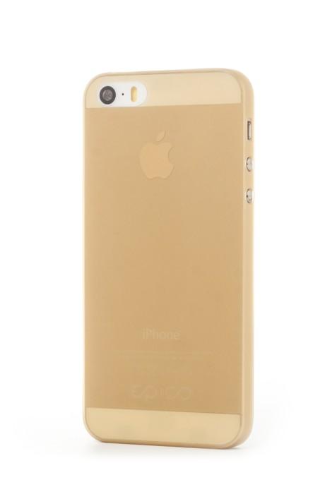 EPICO TWIGGY MATT, kryt pro iPhone 5/5s, zlatý