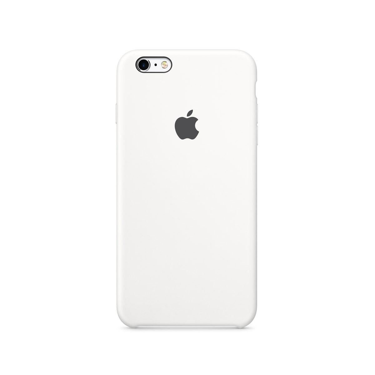 Apple silikonový kryt na iPhone 6s - bílý