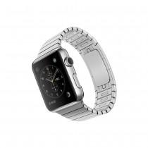 Hoco Link Edition, řemínek pro 38mm Apple Watch - stříbrný