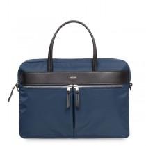 """Knomo HANOVER Slim Briefcase 14"""", modrá taška"""