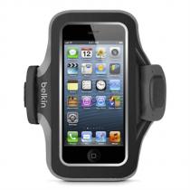 Belkin iPhone 5/5s/5c armband Slim-Fit Plus, černé pouzdro na sport