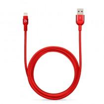 Lightning kabel Adam Elements PeAk (2m) - červený