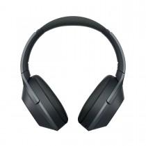 Sony WH-1000X, Bluetooth bezdrátová sluchátka přes hlavu, uzavřená s ANC, černá