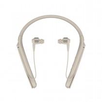 Sony WI-1000X, Bluetooth bezdrátová sluchátka do uší s týlním mostem s ANC, béžová
