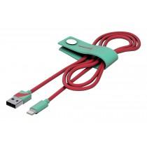 Tribe Vespa, odolný Lightning kabel (120cm) - Acquamarine