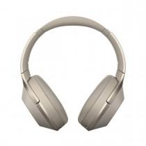 Sony WH-1000X, Bluetooth bezdrátová sluchátka přes hlavu, uzavřená s ANC, béžová