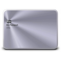 WD My Passport Ultra Metal Edition, 1TB disk, USB 3.0, stříbrný