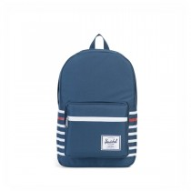 Herschel Offset Pop Quiz, batoh na MacBook - modrý