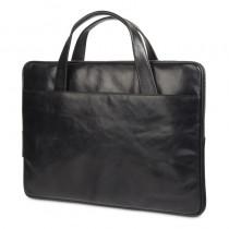"""dBramante 1928 kožená taška Silkeborg pro MacBook 13"""" - černá"""