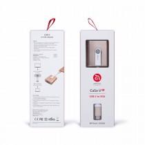 Adam Elements CASA V01 - redukce USB-C na VGA - zlatá