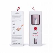 Adam Elements CASA V01 - redukce USB-C na VGA - růžově zlatá