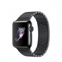 Apple Watch Series 2 - 38mm pouzdro z vesmírně černé nerezové oceli – vesmírně černý článkový tah
