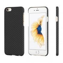 Pitaka Aramid ochranný kryt pro iPhone 6 / 6s - černý/šedý