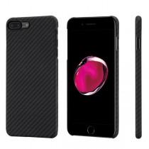 Pitaka Aramid ochranný kryt pro iPhone 7 Plus - černý/šedý